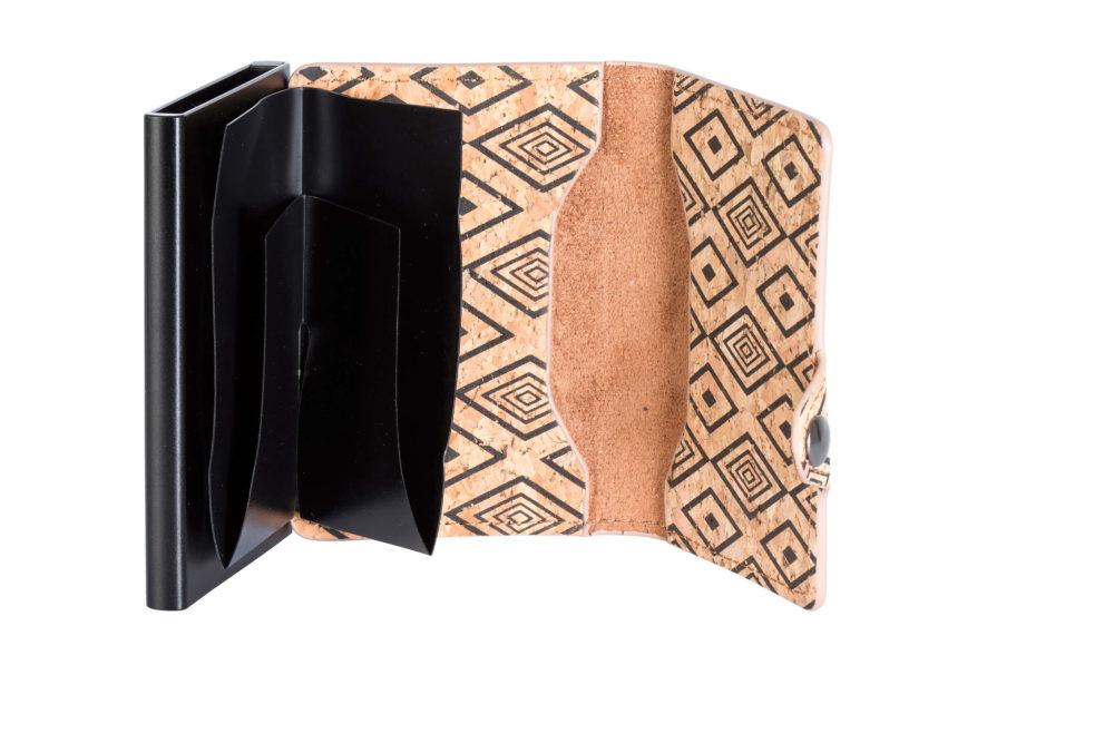 Cork Card Holder – Black