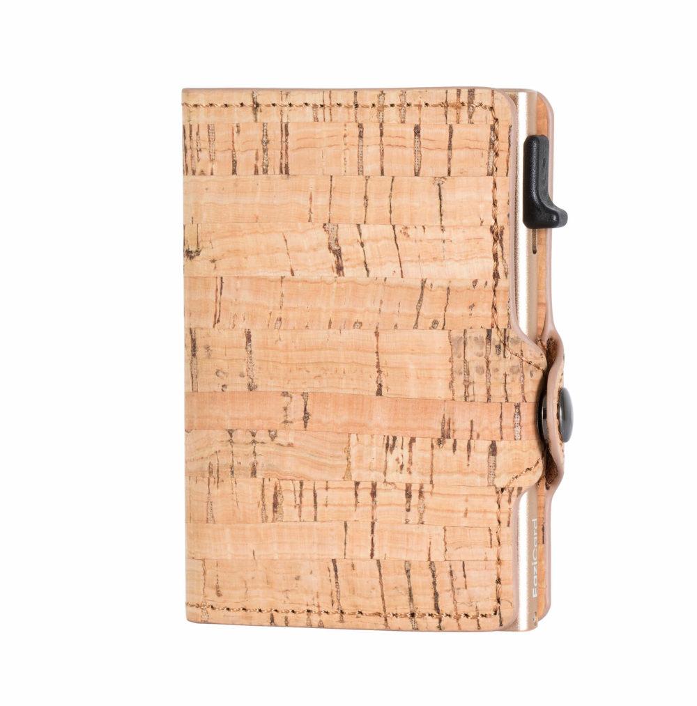 Cork Card Holder – Gold