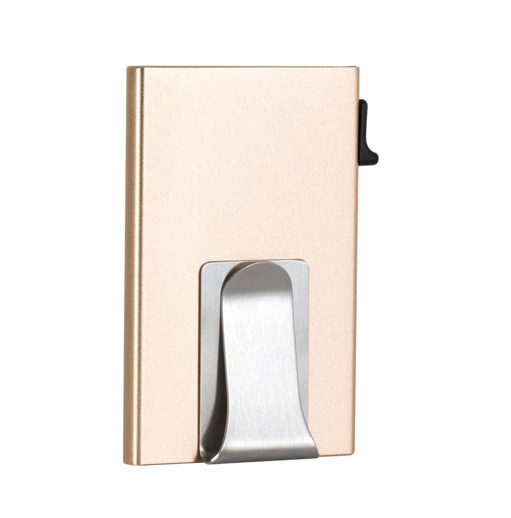 Money Clip Card Holder – Gold