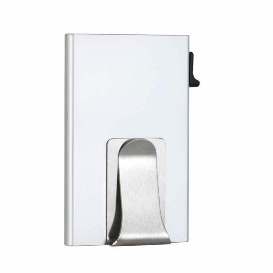 Money Clip Card Holder – Silver